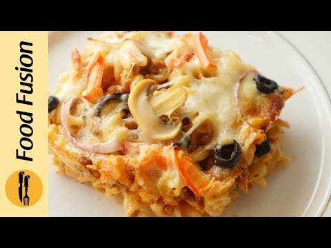 Pizza Pasta Recipe by Food Fusion