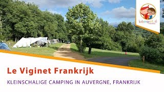 Camping Le Viginet in de Auvergne