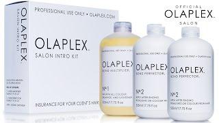 видео Уход за волосами OLAPLEX