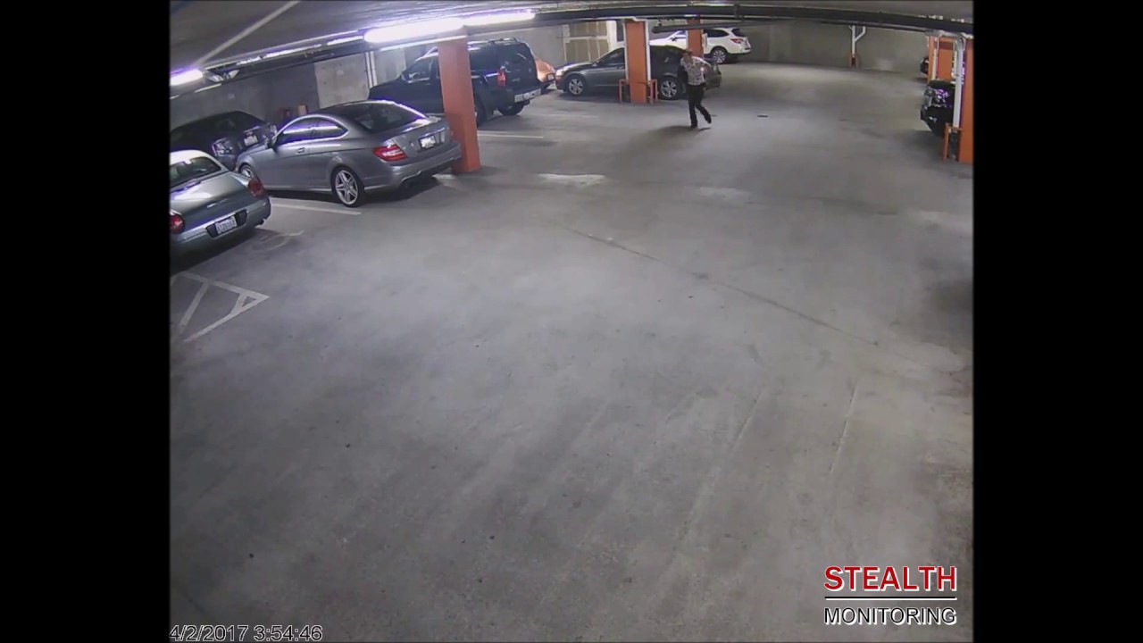 Catch of the Month April 2017: Car Jacking Prevented at Parking Garage