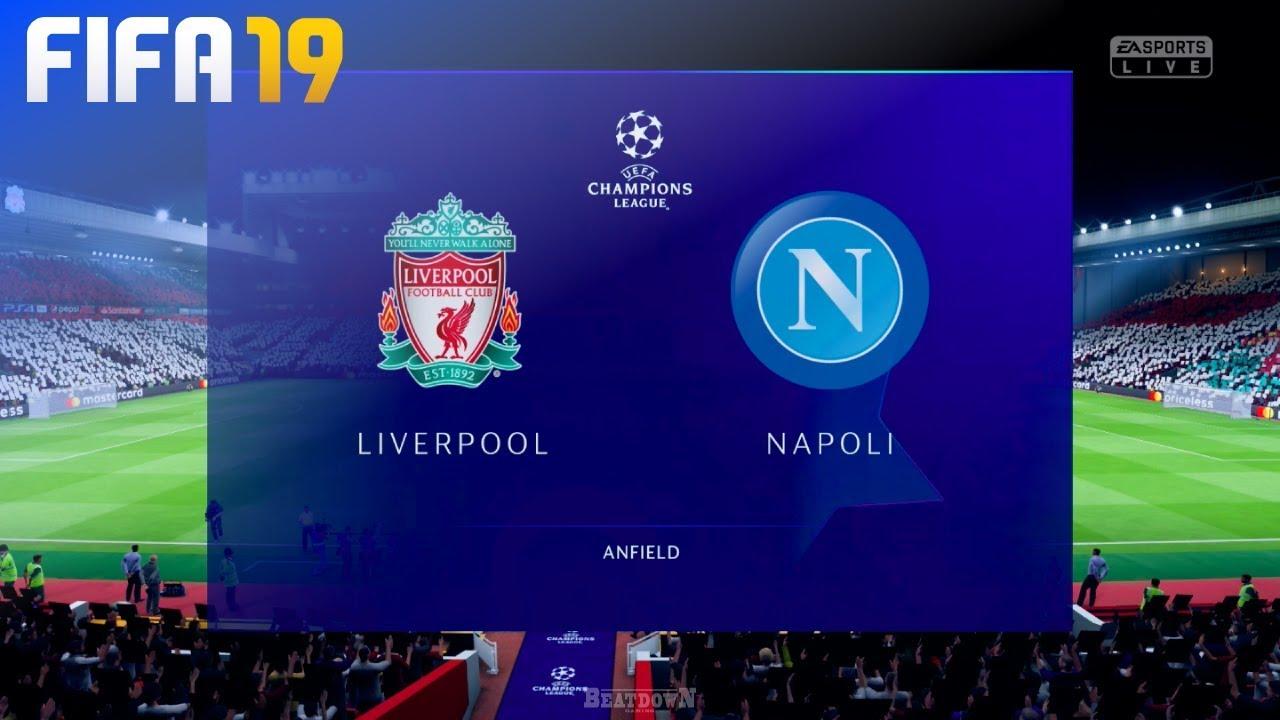 Fifa 19 Liverpool Vs Napoli Anfield Youtube