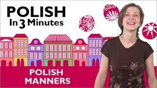 Learn Polish - Polish in 3 Minutes - Thank You & You're Welcome in Polish