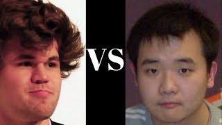 Magnus Carlsen vs Li Chao Qatar Masters (2015) : Notable game:  Neo-Grünfeld Defense