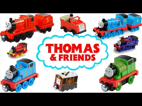 THOMAS AND FRIENDS TAKE N PLAY TRAINS TANK ENGINES RAILWAY COLLECTION