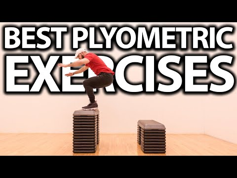 25 Plyometric Exercises for Vertical Jump! (How To Increase Vertical Without Weights)
