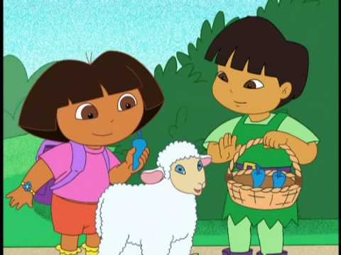dora had a little lamb youtube