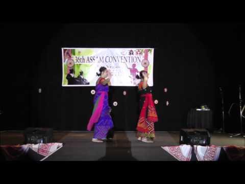 Assamese Dance - Meghar Jolonga @ Las Vegas