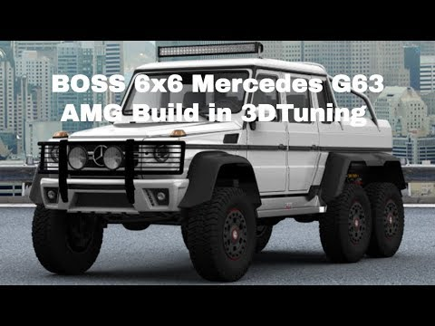 BOSS 6x6 Mercedes G63 AMG Build in 3DTuning
