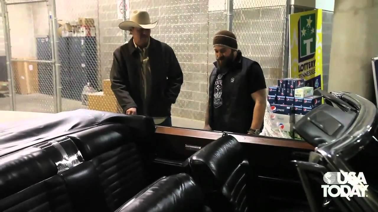 El Dorado Car >> Alan Jackson gives Zac Brown a Cadillac - YouTube