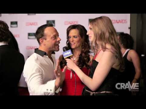 AEE 2014 VIDEO: Dani Daniels & Xander Corvus with Ela Darling