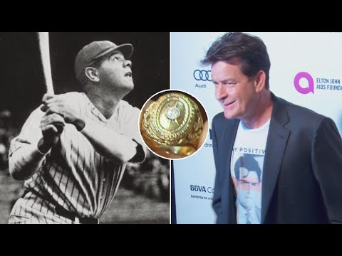 Why Is Charlie Sheen Selling Babe Ruth's 1927 World Series Ring?