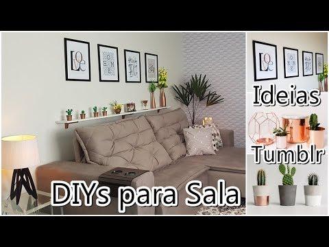 DIYs para Sala, Ideias lindas + Cactos, quadros e prateleira | Viviane Magalhães