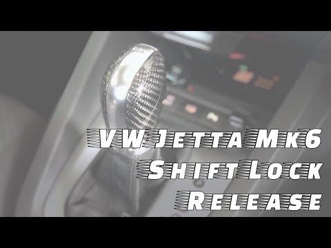 VW Jetta Mk6 Shift Lock Release