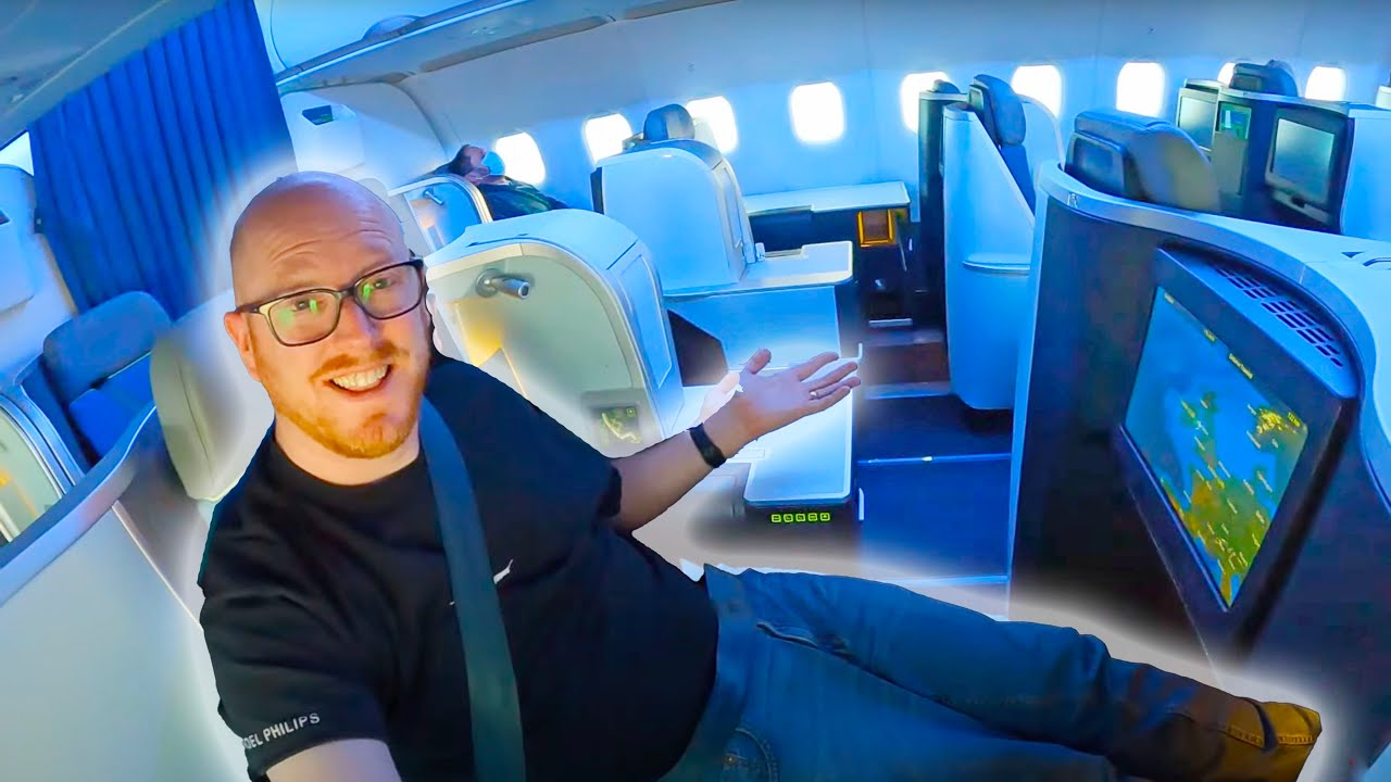 Is This Europe's BEST Shorthaul Business Class?