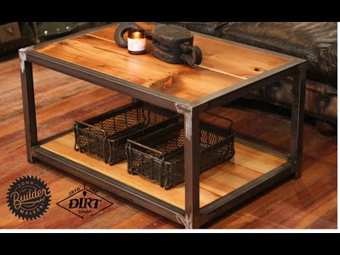 Industrial Coffee Table John Malecki/IntotheDirtshop