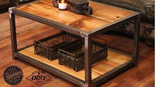 Industrial Coffee Table John Malecki/IntotheDirtshop
