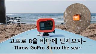 고프로 히어로 8 블랙 언박싱. 서핑 보드 마운트 &a…