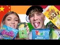 BRITISH COUPLE TRY ASIAN CANDY!