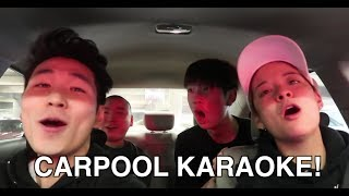 carpool karaoke stupidness.
