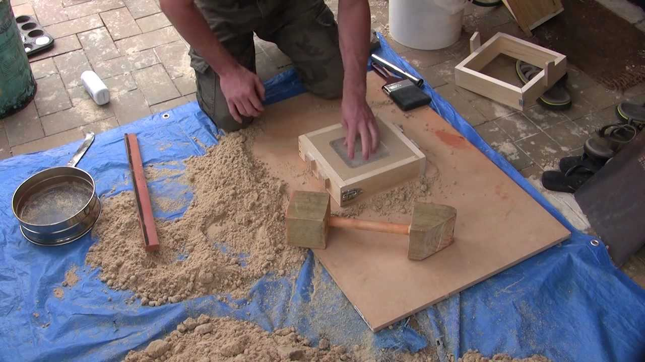 Making greensand at home for metal casting