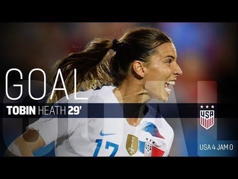 WNT vs. Jamaica: Tobin Heath Second Goal - Oct. 14, 2018