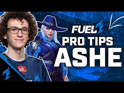 DOMINATE with ASHE! - Pro Tips w/ ZachaREEE | Dallas Fuel