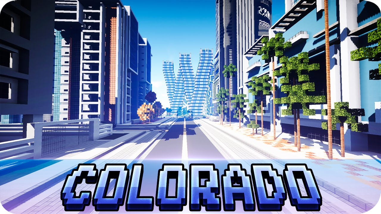 Minecraft modern colorado river city map with download youtube gumiabroncs Image collections