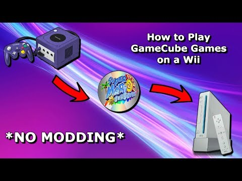 How to play GameCube games on a Wii