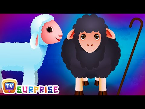 Surprise Eggs Nursery Rhymes Toys | Baa Baa Black Sheep | Le