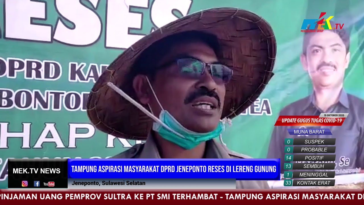 Tampung Aspirasi Masyarakat DPRD Jeneponto Reses di Lereng Gunung