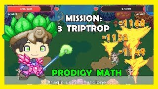 My New Dragon Spike Robes | Prodigy Math Game | Mission 7: 3 Triptrop 💪 - Firefly Forest 💥