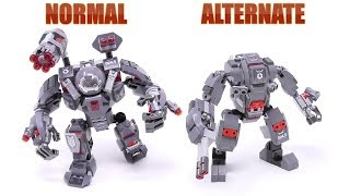Gambar cover LEGO War Machine Buster - Normal/Alternate Build (Stop Motion Build)