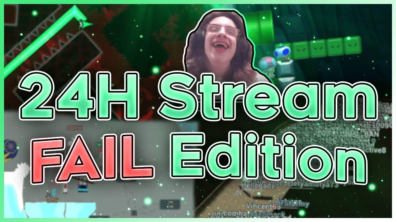 24 HOUR STREAM Highlights! (Fail Edition :/)