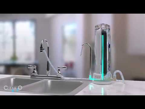 CLEAR2O COUNTERTOP WATER FILTRATION SYSTEM - GREAT TASTING & SUPERIOR WATER FILTRATION