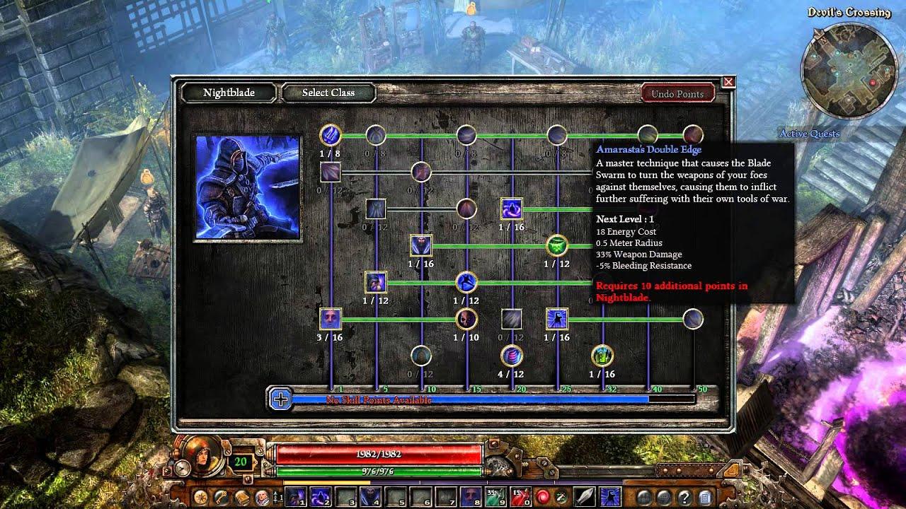 Grim Dawn Nightblade Build