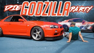 JP Performance - The Godzilla Party! | Nissan GTR-R R35, R34, R32 | Part 1