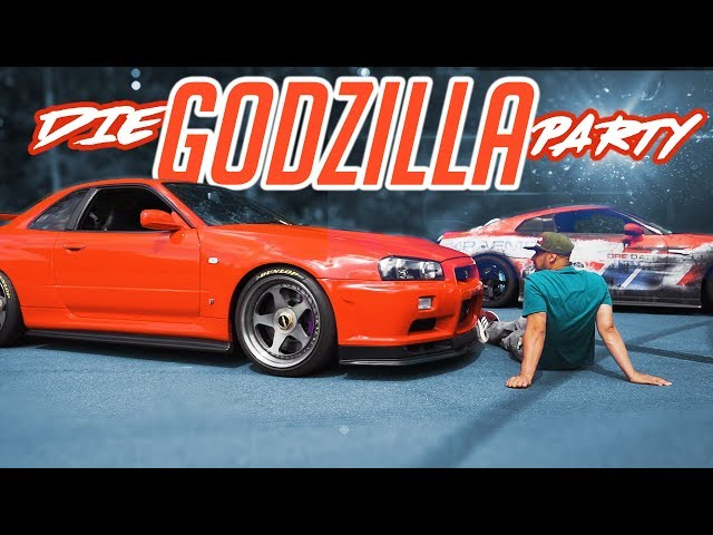 JP Performance - Die Godzilla Party! | Nissan GTR-R R35, R34, R32 | Teil 1