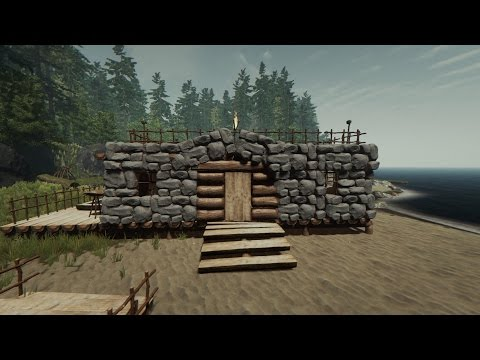 The Forest SE02 EPS01 (Tutorial Building Rock House)