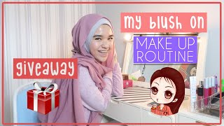 Download Video My Blush On Makeup Routine + GIVEAWAY!🎁🎁 MP3 3GP MP4