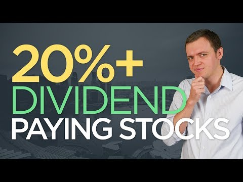 Ep 158: 20%+ HUGE Dividend Paying Stocks & the Risks!