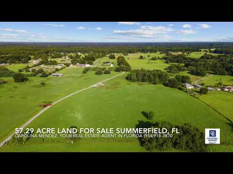 Land For Sale in Florida. Marion County. (Video)