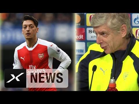 "Arsene Wenger über Mesut Özil: ""Zweifle nicht an ihm"" | FC Bayern München - FC Arsenal"