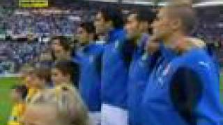 Italy National Anthem (World Cup 2006 Italy vs Ukraine)