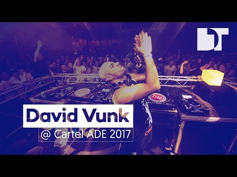 David Vunk at Cartel ADE 2017, Amsterdam (Netherlands)