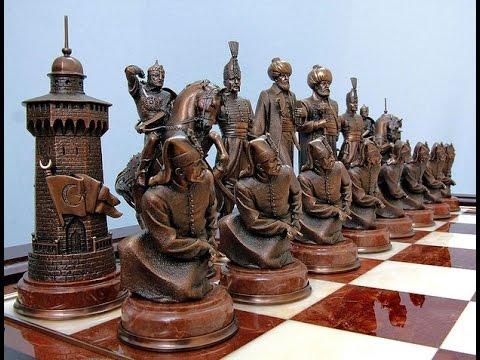 Уникальные шахматы из дерева своими руками
