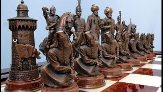 Уникальные шахматы из дерева своими руками(Шахматы это настольная логическая игра с фигурами на 64 клеточной доске для двух соперников, сочетающая..., 2015-07-27T14:16:03.000Z)