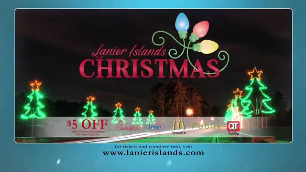 Lanier Islands Christmas & SnowWorld - YouTube