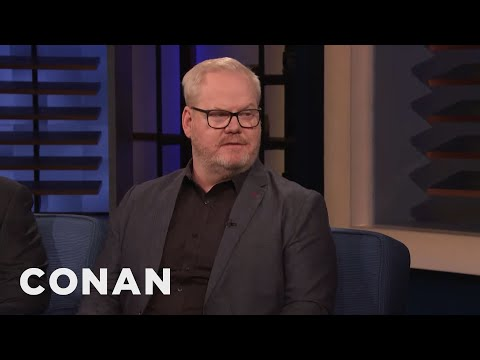 """Jim Gaffigan On His New Movie """"Being Frank"""" - CONAN on TBS"""