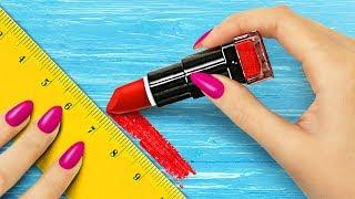 10 DIY Weird Makeup Ideas / Makeup Pranks