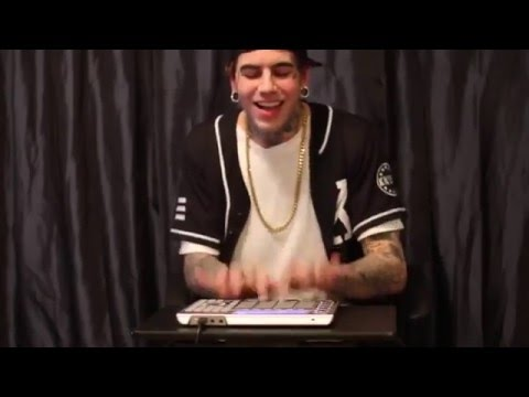 "Oscar Wylde  Live drum machine edit of Shawn Mendes -""Stitches"""